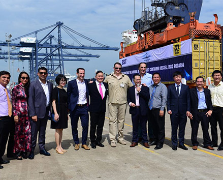 The SSIT Port Welcomes First Container Vessel